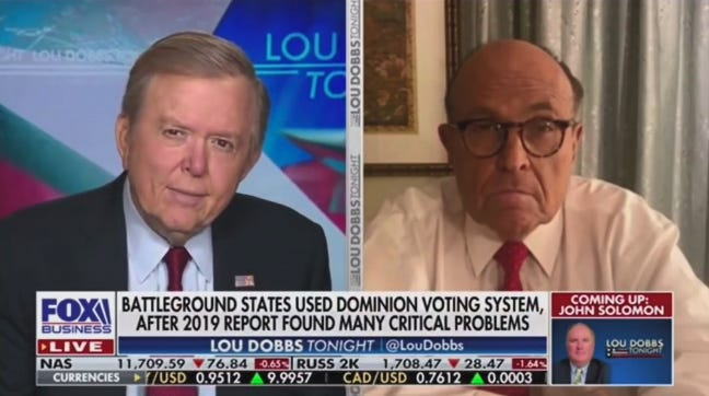 Rudy Giuliani, Sidney Powell, and Fox News have August date confirmed for court bid to dismiss $2.7 billion Smartmatic lawsuit (businessinsider.com)