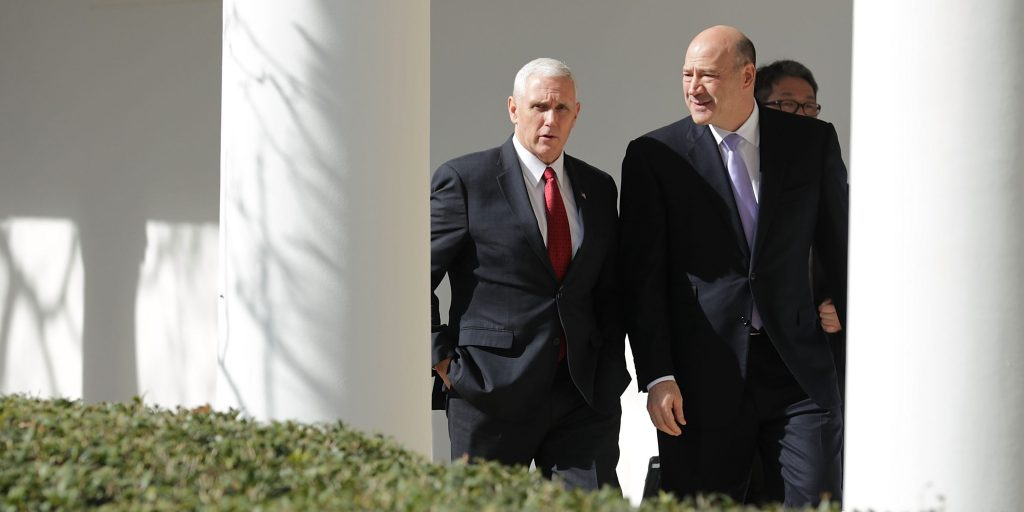 Penceprivately said he was 'proud' of economic advisor Gary Cohn for blasting Trump over response to Charlottesville rally, book says (businessinsider.com)