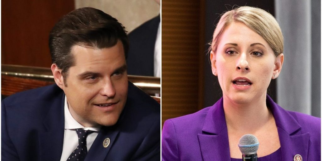 Former Rep. Katie Hill blamed sexism for having to resign after her sex scandal while Matt Gaetz and Andrew Cuomo have kept their jobs (businessinsider.com)