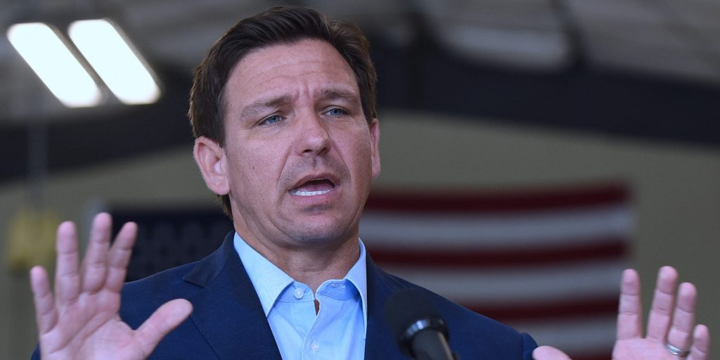 Florida Gov. Ron DeSantis signs a law punishing student 'indoctrination' at public universities and threatens budget cuts (businessinsider.com)