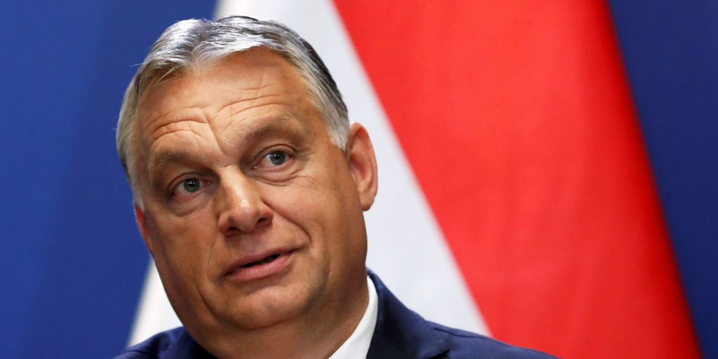 Hungary's authoritarian leader won't attend soccer game against Germany amid spat over his anti-LGBTQ law (businessinsider.com)