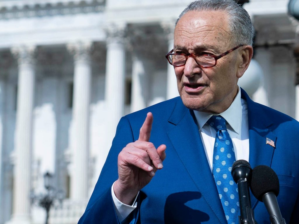 Major infrastructure bill could get vote within days, Schumer says (nydailynews.com)