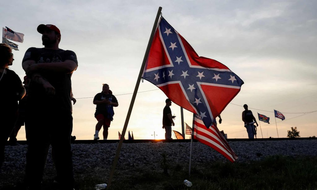 TREASON EXPOSED!Neo-Confederate group includes military officers and politicians (theguardian.com)