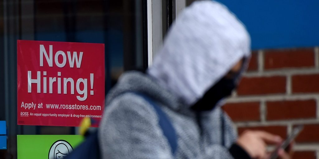 Weekly jobless claims slide again to new pandemic-era low of 364,000 (businessinsider.com)