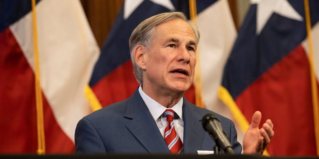 GOP Gov. Greg Abbott says drive-thru voting could lead to 'coercive' passengers, defends Texas voting restrictions (businessinsider.com)