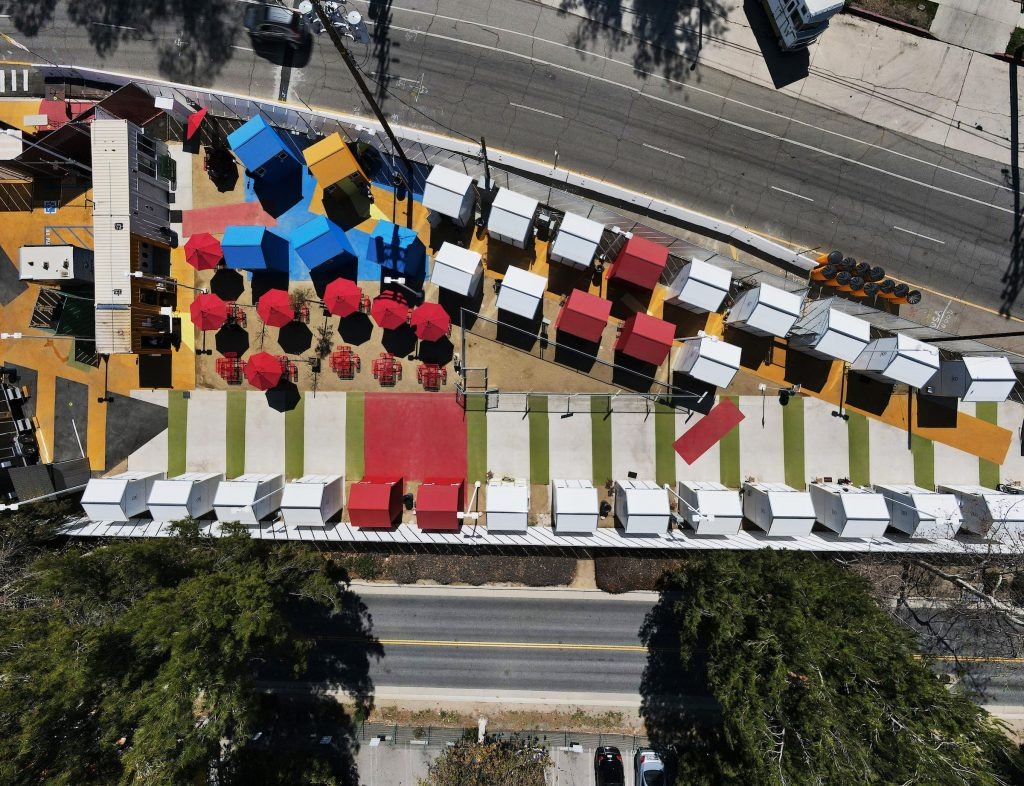 The Tiny Homes going up on oddly-shaped slivers of 'virtually unusable' city land to shelter LA's unhoused (businessinsider.com)