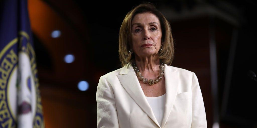 Nancy Pelosi's office calls Trump a 'twice-impeached Florida retiree' (businessinsider.com)