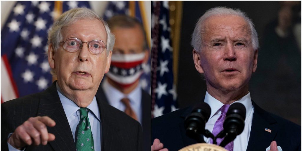 'He's bragging about it in Kentucky': Biden calls out McConnell for touting COVID-19 relief bill the senator voted against (businessinsider.com)