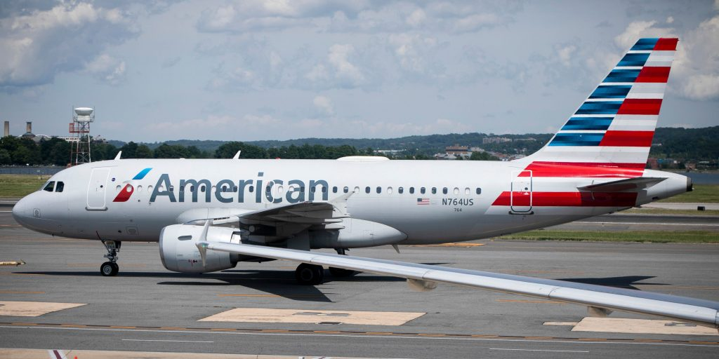 American Airlines passenger arrested after jumping from an emergency exit after a 30-minute delay in disembarking (businessinsider.com)