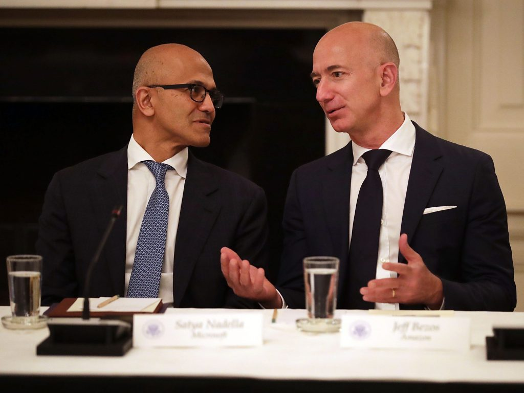 The Pentagon has called off the $10 billion JEDI cloud-computing contract Microsoft and Amazon were arguing over (businessinsider.com)
