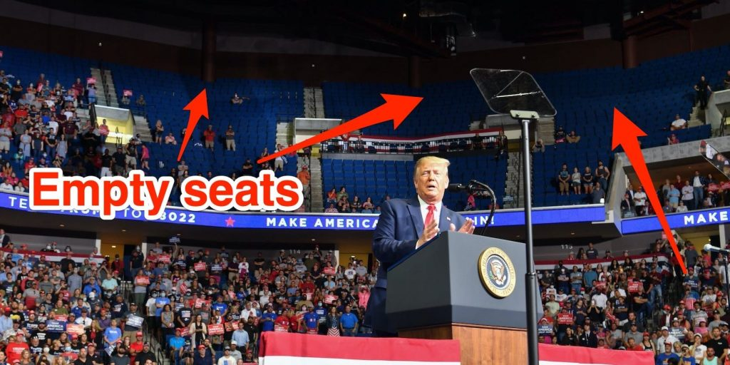 'He's f—ed up everything': Trump exploded at his campaign manager over low turnout at a rally, a new book says (businessinsider.com)