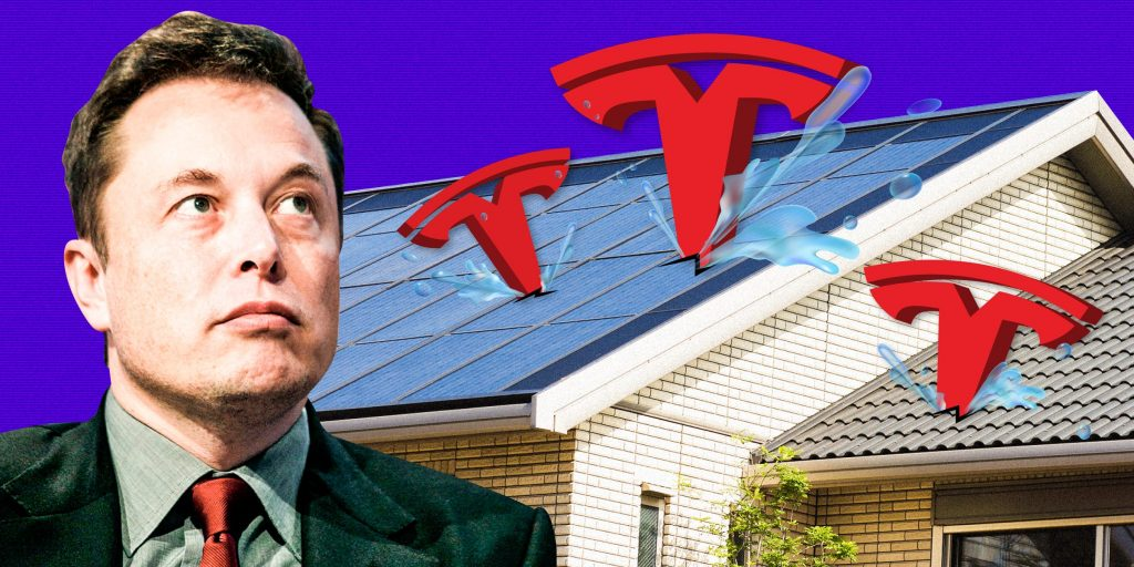 A couple says their Tesla Solar panels caused relentless leaks that led to mold 10 times the healthy limit, $115,000 in damages, and a long-running legal battle (businessinsider.com)