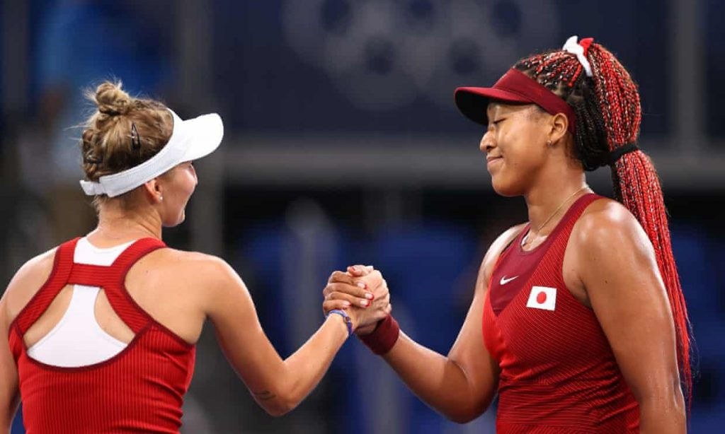 Naomi Osaka stunned as face of Tokyo Games knocked out of Olympic tennis (theguardian.com)