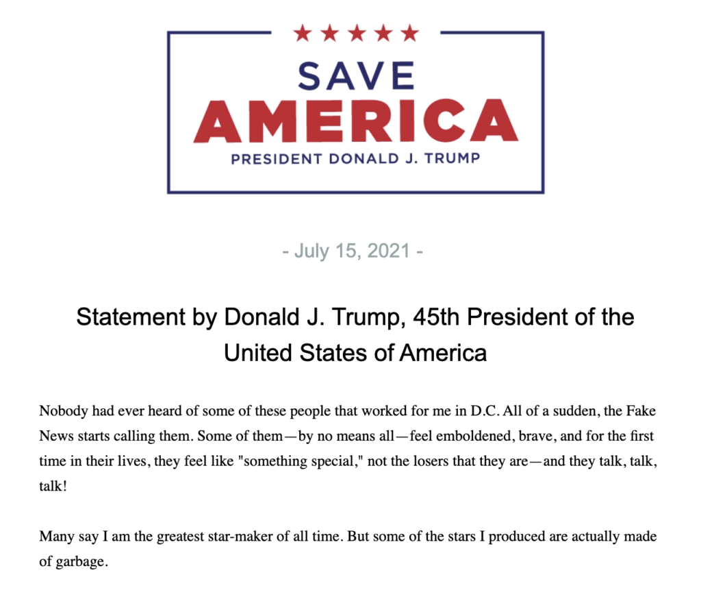 Trump Makes A Stunning Confession (dcreport.org)