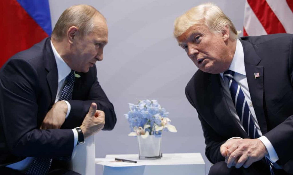 """Leaked Kremlin papers spell out Putin's plot to support """"mentally unstable"""" Trump, install him in White House (theguardian.com)"""