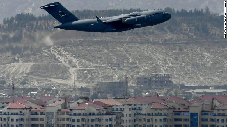 OVER AT LAST! Final Military Plane Leaves Afghanistan