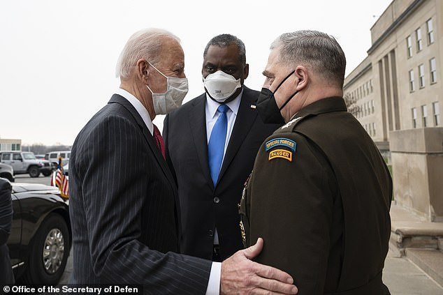Biden comes to Milley's defense after revelation top general, fearing Trump, conferred with China to avert war (washingtonpost.com)