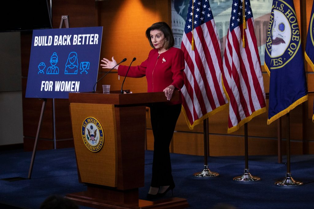 Crunch Week on Capitol Hill: Pelosi Announces Vote on $1 Trillion Bipartisan Infrastructure Bill (nytimes.com)