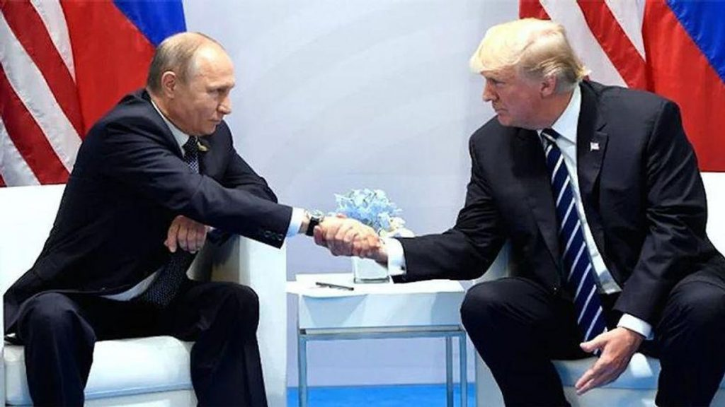 Putin kept tried to freak out 'germaphobe' Trump at infamous 2019 meeting: new book (rawstory.com)